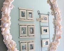 Декорируем зеркало для дома