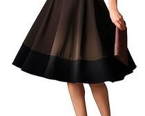 Как сшить юбку-колокол