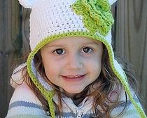 Выкройка милой детской шапочки
