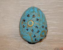 Пасхальный мастер-класс: декор яиц кружевом и пуговицами