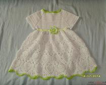 Вязание крючком: Платье для девочки