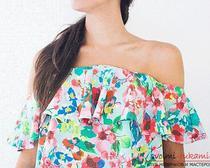 Новинки шитья: летняя блуза для женщины