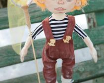 Текстильная ароматизированная кукла