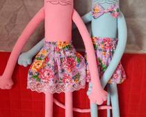 Как сшить текстильную куклу своими руками по выкройке