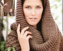 Схемы вязания шарфов спицами с