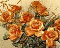 Искусственные цветы из разных материалов своими руками
