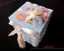 Сувенирная коробка из пакета от молока