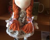 Кукла тряпичная своими руками: Снежка