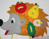 Выкройка детских игрушек из фетра