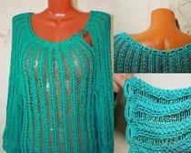 Схемы вязания спицами для женщин. Туника спицами