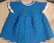 Платье для маленькой принцессы до года