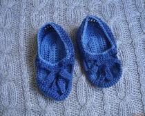 Как связать крючком обувь для малыша