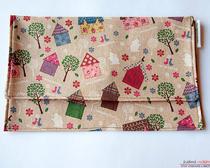 Как изготовить подарочный конверт из ткани