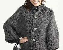 Вязание спицами пальто, кардиганов для женщин, девочек и детей с бесплатными схемами и подробным описанием
