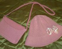 Мастер-класс по вязанию шляпки и сумочки