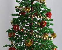 Подготовка новогодней ёлочки из бисера своими руками - урок и инструкция