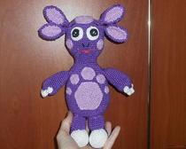 Амигуруми: игрушка Лунтик
