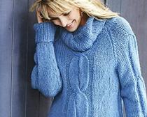 Вяжем свитерок к наступлению холодов
