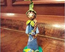 Мастер-класс: феечка Голубая Розочка из полимерной глины Clay Craft by Deco