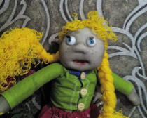Кукла Пеппи - длинный чулок