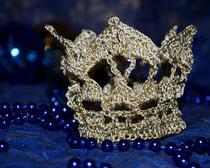 Корона для маленькой принцессы, вязаная крючком