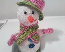 Снеговик со шляпой
