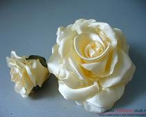 Как сделать розу из лент? Мастер класс с пошаговыми фото и описанием