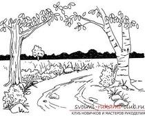 Изображение весны, рисование за пять этапов