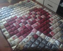 Шелковое одеяло ручной работы