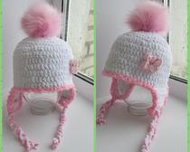 Вязание крючком. Модные шапки для детей