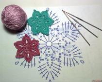 Простые схемы вязания крючком для начинающих - схемы вязания салфетки и другого