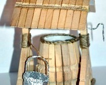 Уникальные поделки из деревянных прищепок