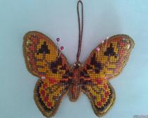 Подушка для иголок Бабочка