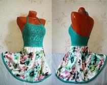 Схемы вязания спицами для девочек. Сарафан «Летний бриз» с юбкой из набивного атласа