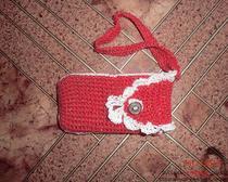 Вязание крючком: простой чехол для телефона
