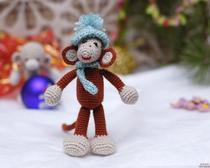 Мастер класс по вязанию крючком: Веселая обезьянка