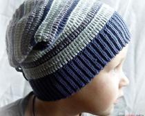 Вязание шапки для мальчика крючком - рельефный узор