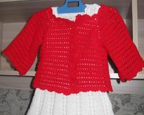 Нарядный костюмчик для маленькой модницы