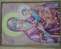 Вышивка крестом Иконы Божией Матери