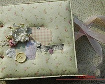 Фотоальбом для новорожденного. Мастер-класс