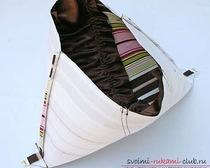 Оригинальная сумка из ткани