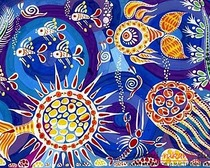 Рисование морских глубин с помощью гуаши