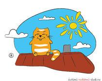 Рисуем кота Мурра. Урок рисования для детей от 4-х лет