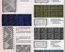 обучающие схемы вязания на спицах для начинающих рукодельниц