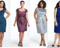 Учимся строить выкройку трикотажного платья для пышных дам
