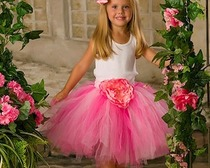 Выкройка стильной детской юбки