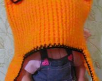 Вяжем шапочку Лисичка