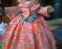 Кукла на чайник Дуся