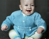 Жакетик для мальчика 6-9 месяцев