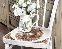 Декорируем старый стул